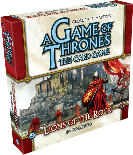 Game of Thrones LCG: Lions of the Rock Expansion