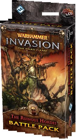 Warhammer: Invasion LCG: The Ruinous Hordes Battle Pack