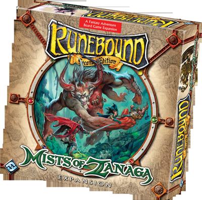 Runebound: Mists of Zanaga Expansion