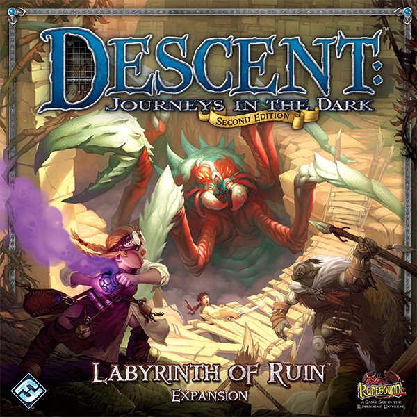 Descent: The Labyrinth of Ruin Expansion