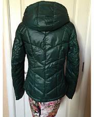 Куртка женская  s.Oliver демисезонная зеленая с капюшоном , фото 3