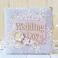 Свадебный альбом для подарка молодоженам Wedding