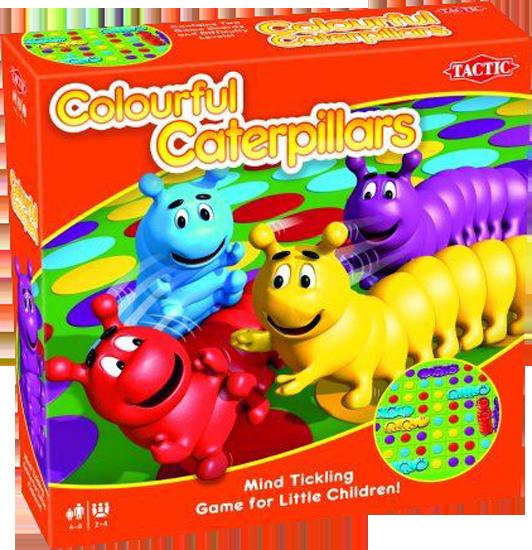 Colourful Caterpillars (Кольорові гусениці)