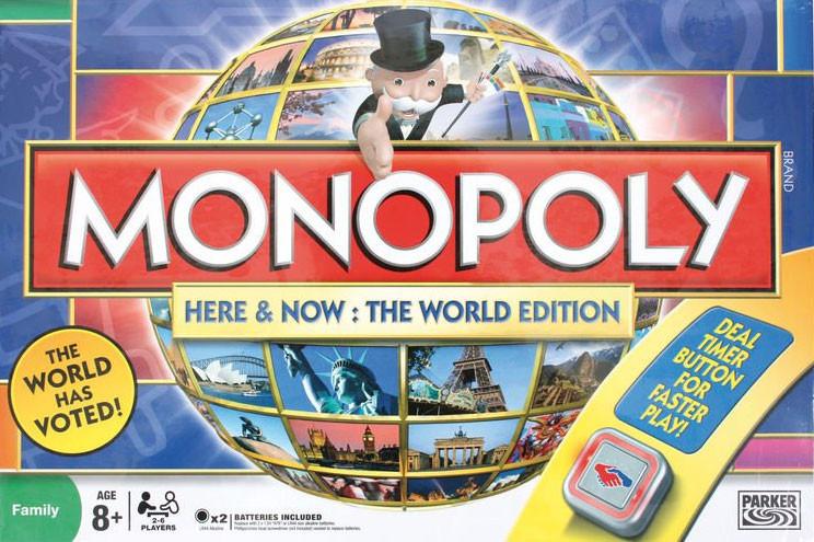 Монополія. Всесвітня (Monopoly Here & Now: The World Edition)