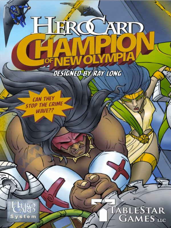 HeroCard Champion of New Olympia