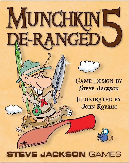 Munchkin 5 De-Ranged Color