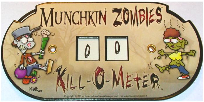 Munchkin Zombies Kill O Meter
