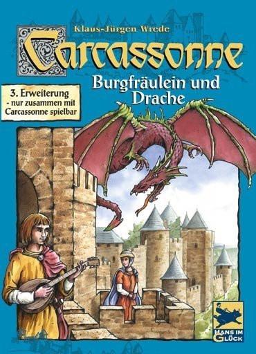 Carcassonne Burgfraulein & Drache (Каркассон. Принцесса и ...