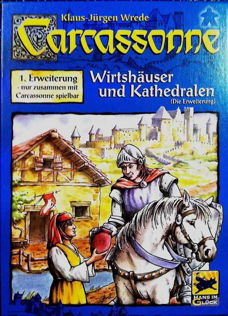 Carcassonne Wirtshauser & Kathedrale (Каркассон. Таверны и Соборы, немецкое издание)