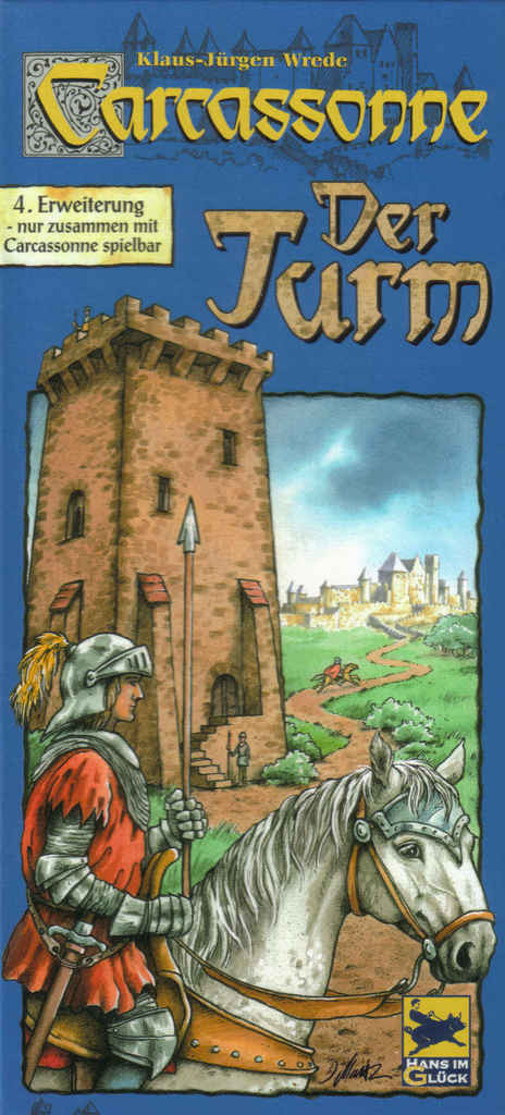 Carcassonne Der Turm (Каркассон. Башня, немецкое издание)