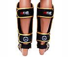 Защита ног (Щитки) Firepower FPSGA7 Черные с золотым, фото 3