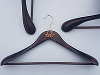 Плечики вешалки тремпеля Mainetti Kazara-1A коричневого цвета, длина 46 см