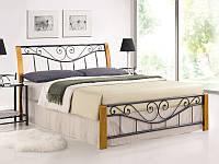 Кровать Parma 160*200 дуб/черный (Signal TM)