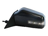 Боковые зеркала наружные заднего вида на для ВАЗ 3261 Carbon с рег. и указ.поворотов левое