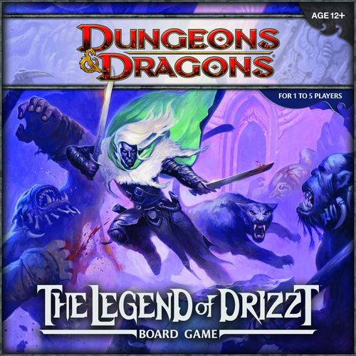 D&D Legend of Drizzt BoardGame