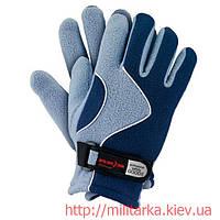 Перчатки зимние флисовые RPOLTRIAN blue