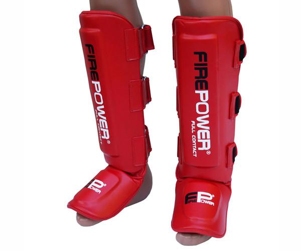 Защита ног (Щитки) Firepower FPSGA5 Красные