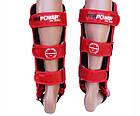 Защита ног (Щитки) Firepower FPSGA5 Красные, фото 3
