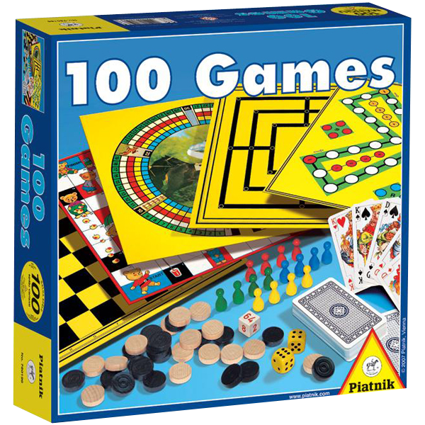 """Набор настольных игр """"100 в 1"""""""