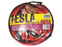 Провода прикуривателя 400 А 2,5м в чехле Tesla