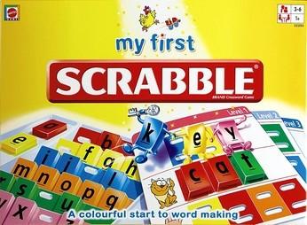 Скребл для малюків (англ. - My First Scrabble)