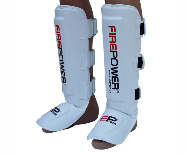 Защита ног (Щитки) Firepower FPSGA5 Белые