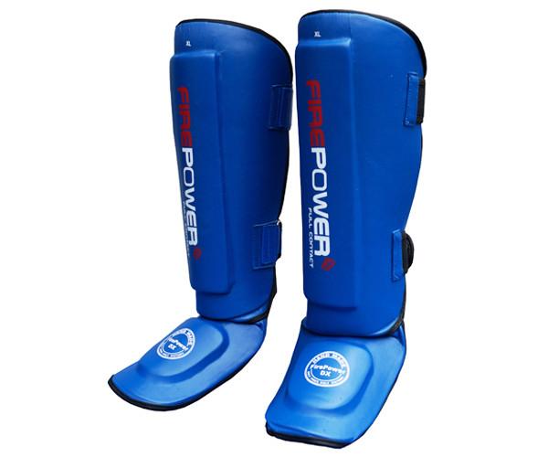Защита ног (Щитки) Firepower FPSGА1 Синие