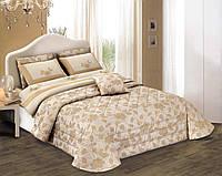 """Двуспальный комплект постельного белья со стеганным покрывалом DIBENEDETTO """"VALERIA"""""""