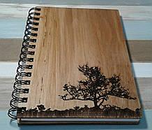 Деревянный блокнот САВАНА тонированный