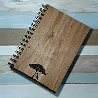 Деревянный блокнот САВАНА 2  тонированный, фото 1