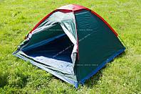 Палатка туристическая походная JY 1502 3-х местная однослойная