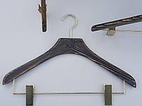 Плечики вешалки тремпеля Mainetti Mexx костюмный под старину темного цвета, длина 40 см