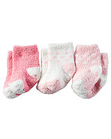 Носки теплые (3 пары) Carters. 12 - 24 месяцев