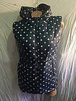 Женская жилетка с принтом опт