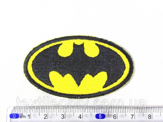 Нашивка Batman Бэтмен s 65х37 мм, фото 2