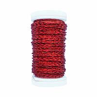 Проволока Бульйонка (50 гр; 0,3 мм) красная