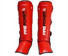 Защита ног (Щитки) Firepower FPSG5 Красная, фото 2