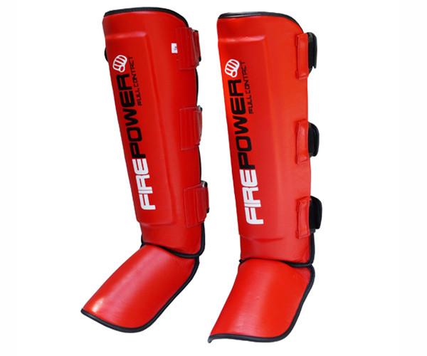 Защита ног (Щитки) Firepower FPSG5 Красная