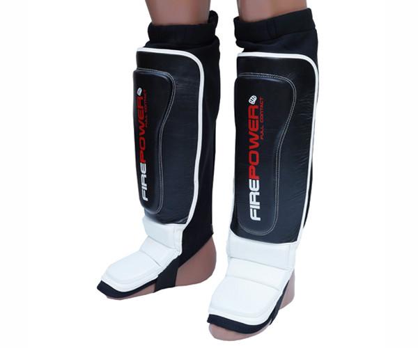 Защита ног (Щитки) Firepower FPSG4MMA Черные