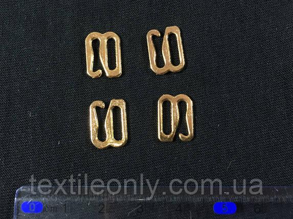 Крючок на бретели 10 мм цвет золото, фото 2