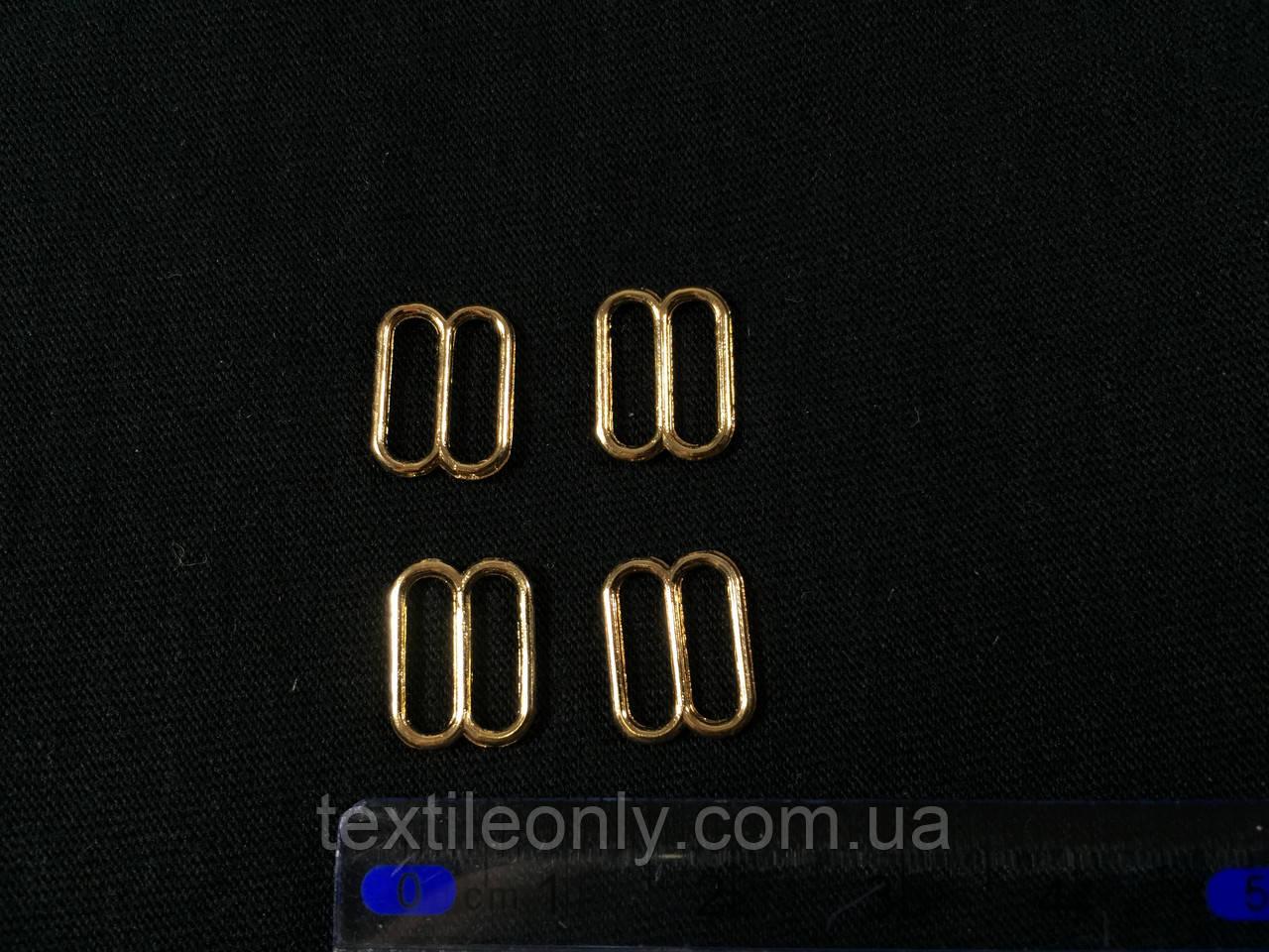 Перетяжка бельевая 10 мм цвет золото