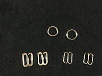 Набор для белья перетяжка , кольцо , крючок цвет серебро