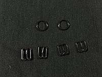 Набор для белья перетяжка , кольцо , крючок цвет никель