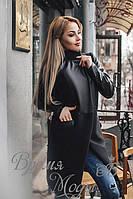 Пальто женское Армани. Чёрное. 3 цвета.