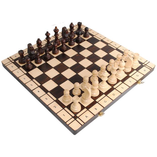 Шахматы Madon с шашками (3165)