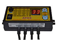 Автоматика «АТОС» для котла на твердом топливе