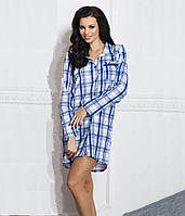 Ночная сорочка Dalia синяя, S/44, TM Taro