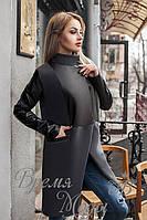 Пальто женское Армани. Графит, 3 цвета