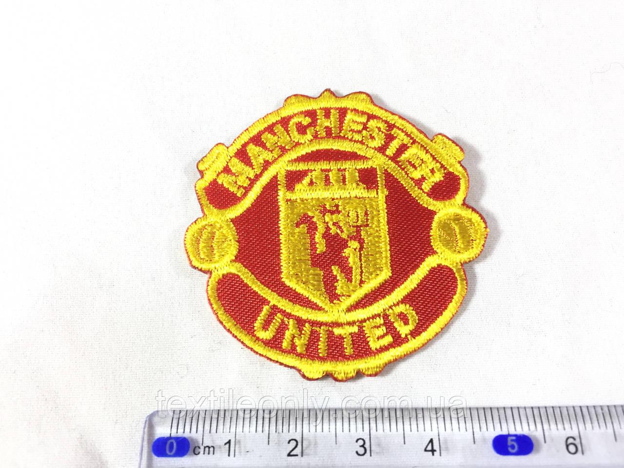 Нашивка manchester united FC Манче́стер Юна́йтед ФК