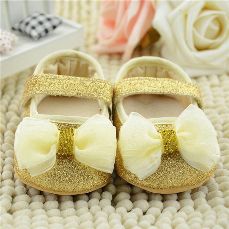 Пинетки туфли Сияющие (зол) 11